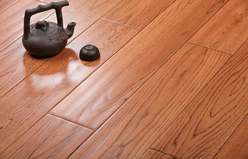 Engineered Oak Flooring Handscraped