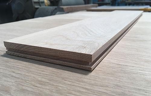Solid oak  flooring unfinished