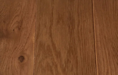 Solid Oak Flooring Walnut color