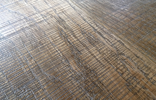 橡木实木地板锯路效果-1