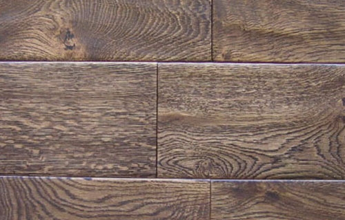 Solid /Engineered Oak Flooring Handscraped