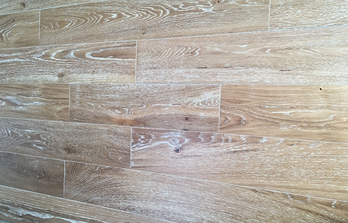 Engineered Oak Flooring Wire brushed
